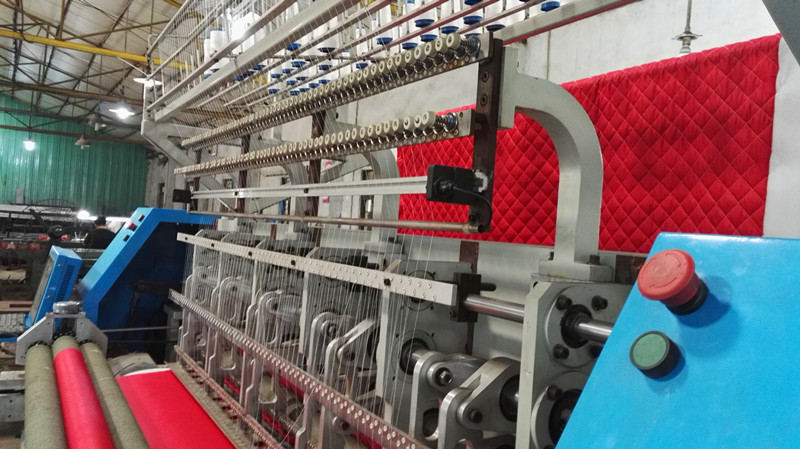 CS64 High Speed Industrial Multi-Needle Quilting Machine