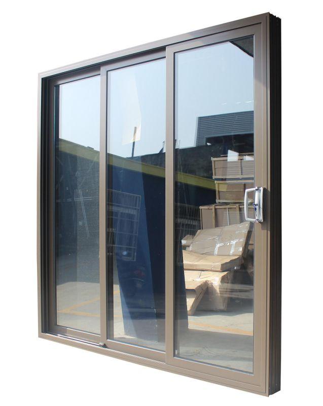 Double Glazed Aluminum Sliding Doors with As2208