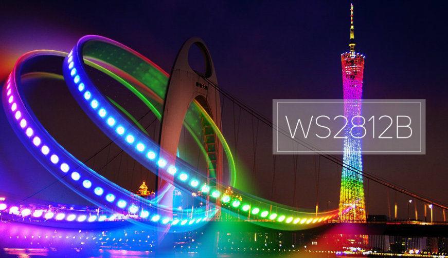 Ws2812b Sk6812 Addressable RGB 5050 5V Flexible LED Strip Light