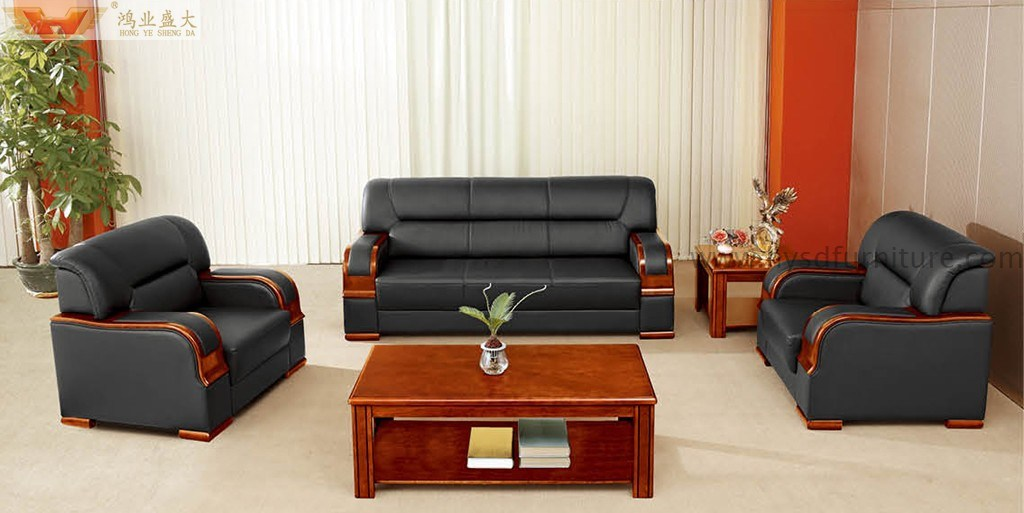 Luxury Antique Living Room Leather Sofa