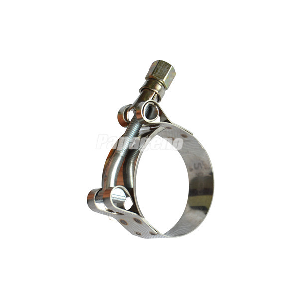 T Bolt Hose Clamp on Pipe Coupling with Flexible