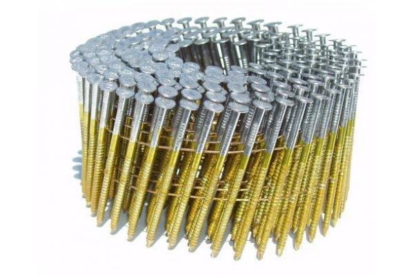 Electro Galvanized Coil Roofing Nail /Roofing Coil Nail