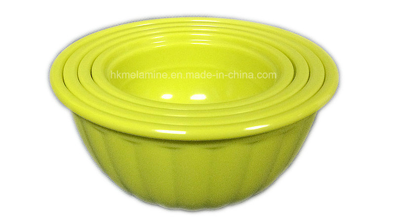 Colorful Melamine Measuring Bowl Set