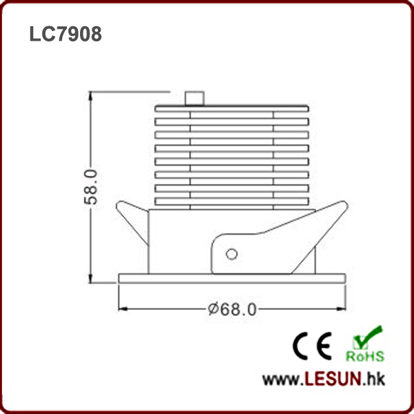 LC7908 6W COB Down Light