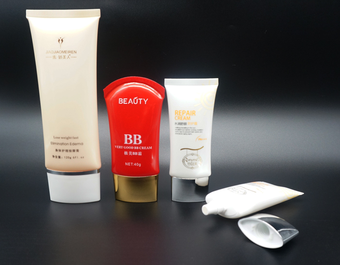 High Quality Plastic Cosmetic Tube, Elegant End Opened Liquid Foundation Packaging