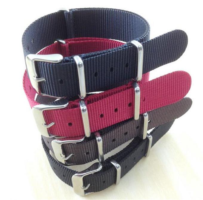 Yxl-611 Fashion Style Nato Watch Straps Nylon Watch Band Strap 18mm 20mm 22mm 24mm Nato Nylon Straps