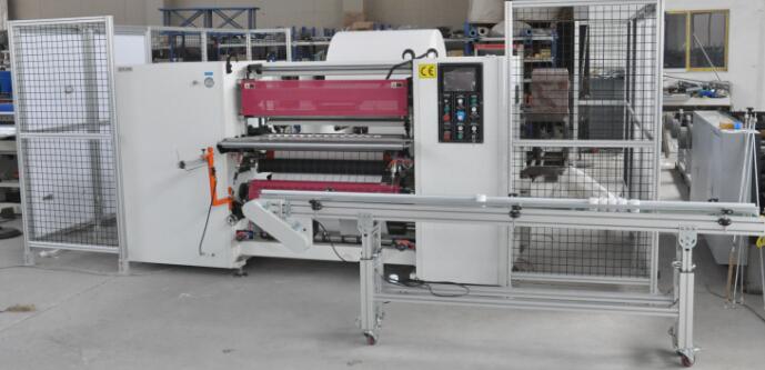 POS Paper Slitting Rewinding Machine