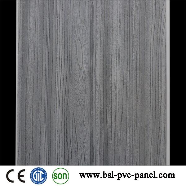 New Wood Design Flat Laminated PVC Wall Panel 25cm