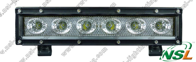 30W 10 Inch LED Work Light Bar Offroad Flood Spot Comb 6PCS*5W 2550lm LED Driving Light Bars for Mining Boat SUV ATV