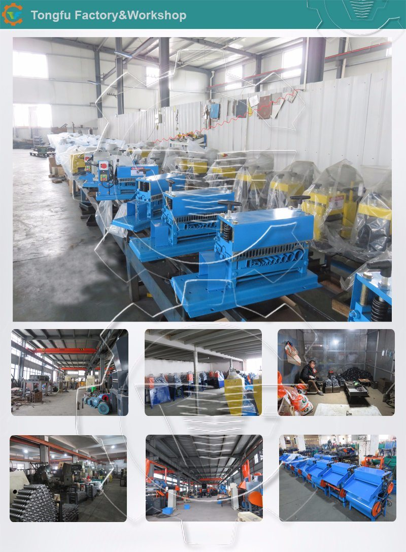 Water tank radiator recycling plant for waste scrap