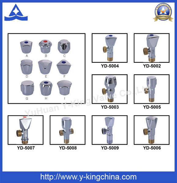 High Quality Brass Angle Valve for Toilet (YD-5013)