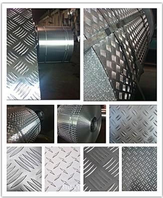Embossed Aluminum Sheet 5754