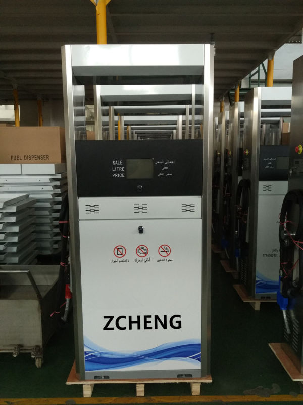 ZCHENG Petrol Station Electric Fuel Dispenser (Single Nozzle or Double Nozzle)