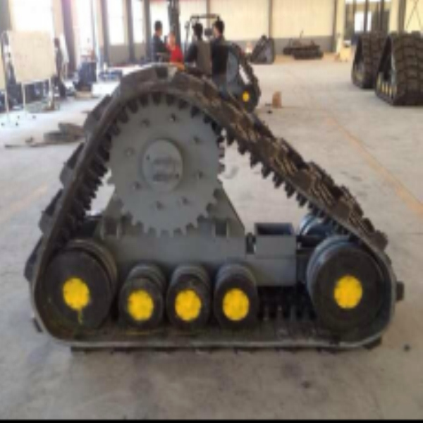 Heavy Size YJC800 Agricultural Rubber Track System Suppliers From China