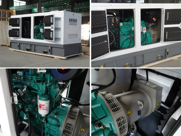 25kVA-250kVA Silent Diesel Generator Powered by Cummins Engine