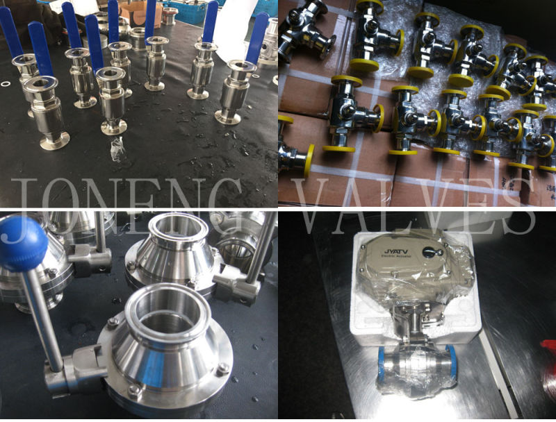 Stainless Steel Sanitary Two-Way Threaded Ball Valve (JN-BLV2003)