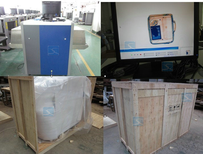X Ray Luggage Scanner Machine for Transport Security Checking