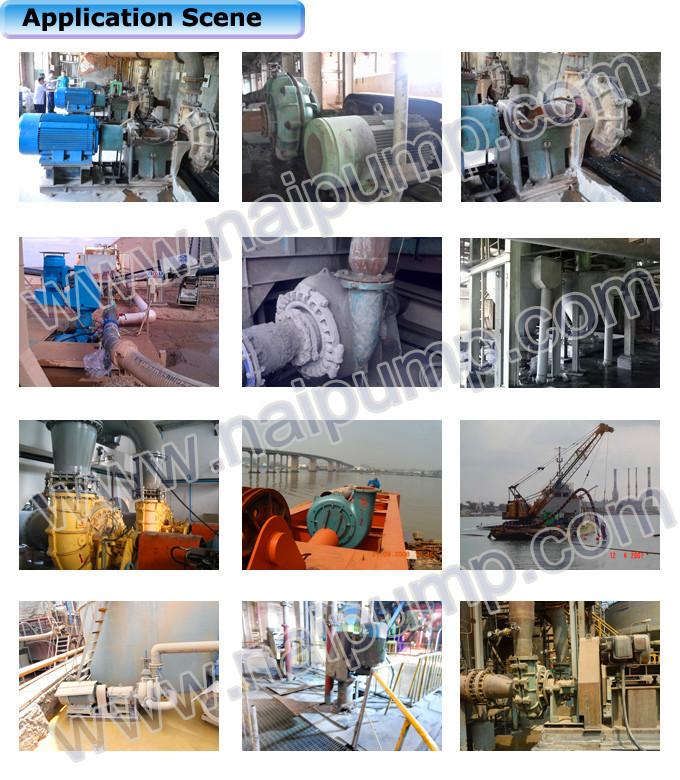 Solid Sand Dredge Shipping Equipment Heavy Duty Slurry Pump