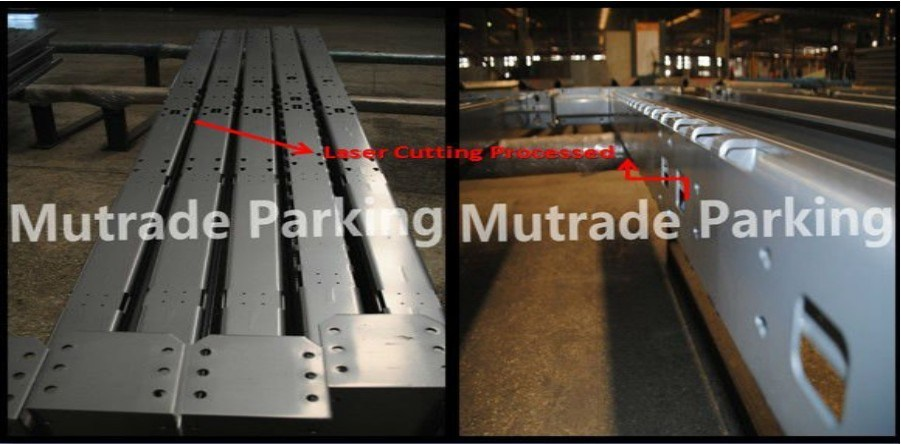 CE Approved Model Sharing Post 2 Levels Parking Equipment