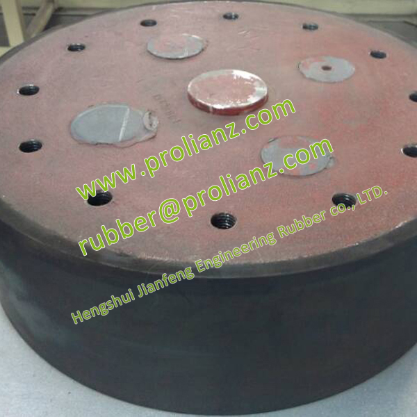 Hot Sale Lead Isolation Rubber Bearing to Turkey