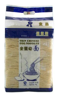 Straight Chinese Egg Noodles 1kg