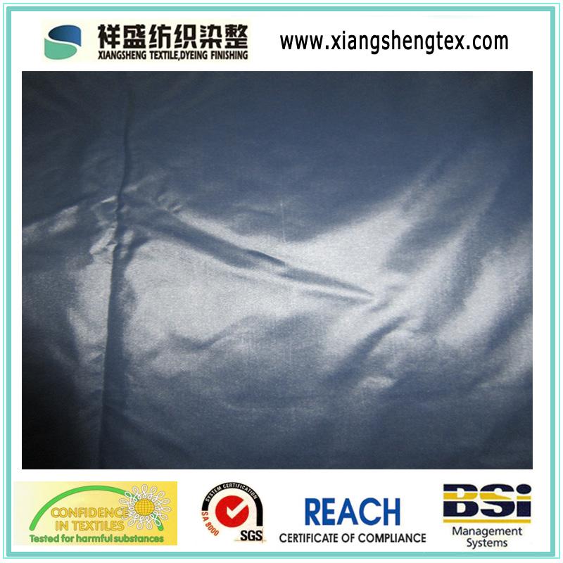 20d Black Yarn Nylon Taffeta Fabric for Down Garment (XSN020)