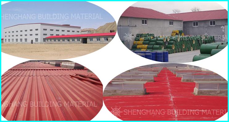Insulation Plastic Flat Sheet Roof