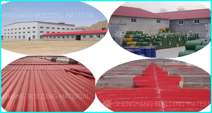 Anti-corosion Plastic Roof Shingles