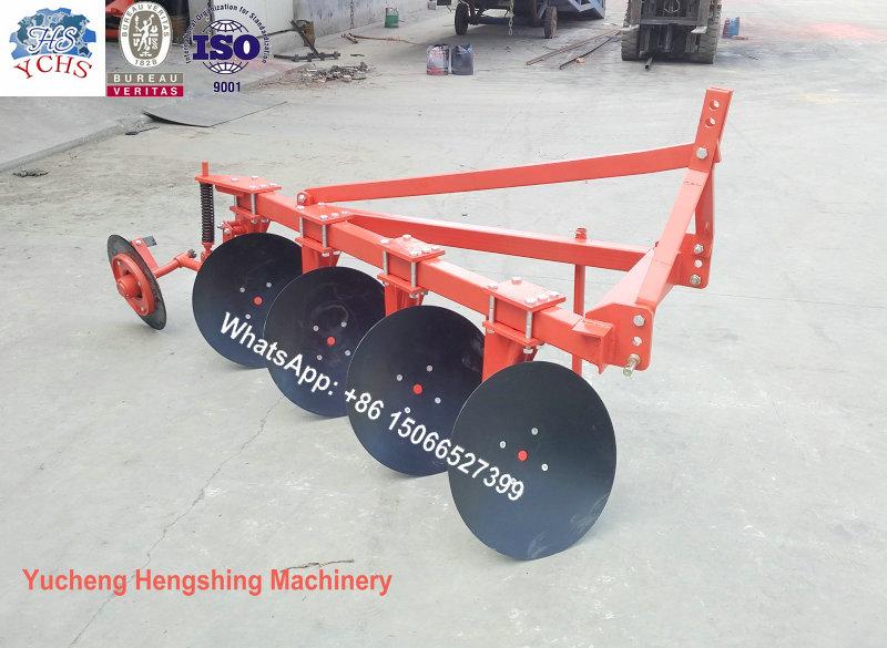 2016 New Design 1lyq-420 Disc Plough for Yto Tractor