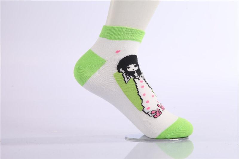 Cute Cartoon Girl Cotton Socks Little Girl Socks Popular for Wholesale