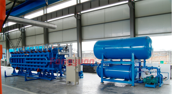 EPS Building Insulation Panel Complete Line EPS Block Making Maachine
