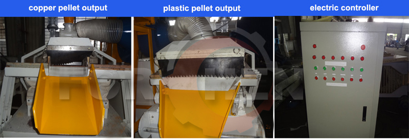 Automatic Operating Scrap Copper Cable Granulator Wire Recycling Machine