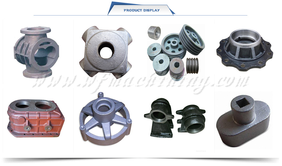 OEM Investment Sand Metal Casting Spare Parts From China Manufacturer