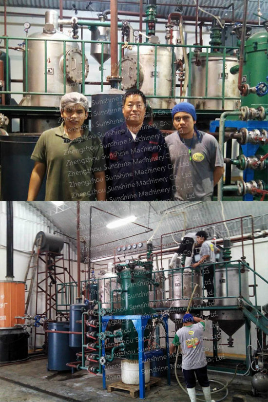 Oil Refining Machine Oil Refinery Plant Soybean Oil Refinery Machine