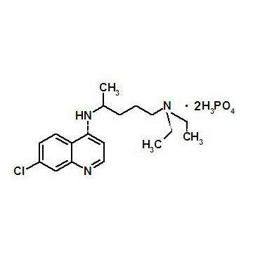 Chloroquine Diphosphate, Chloroquine Phosphate Chemical Reagents CAS 50-63-5
