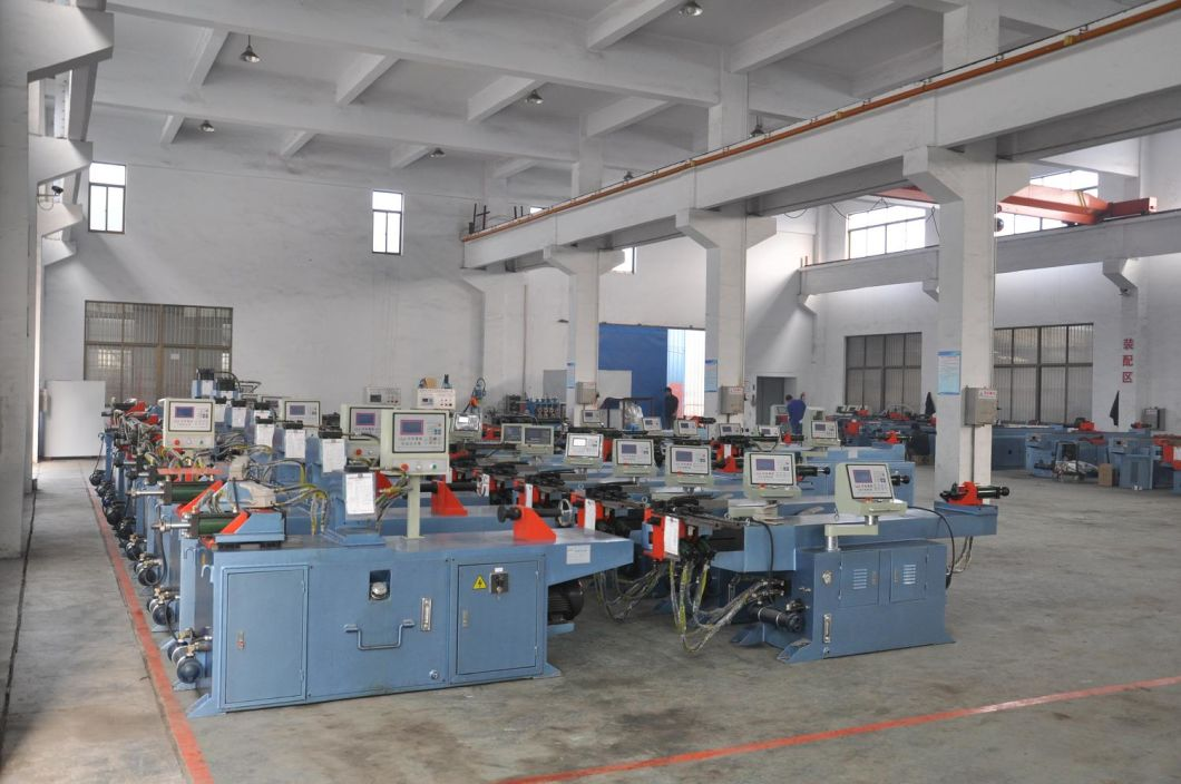 Hydraulic Automatic Pipe End Forming Machine (TM40NC)