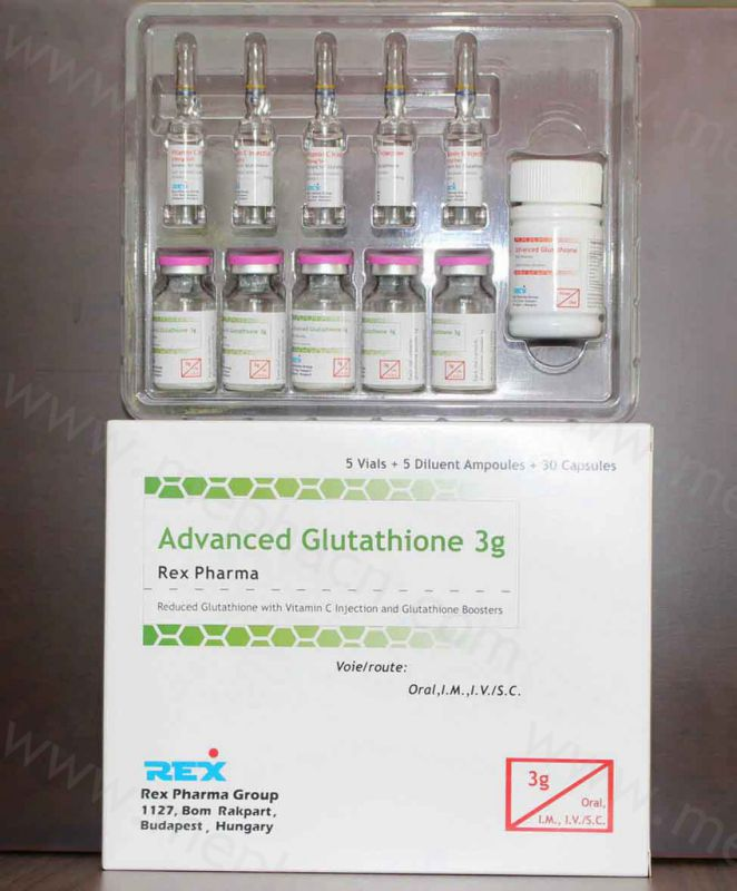 Glutathione Injection 1200mg for Skin Whitening/ Gsh 1200mg