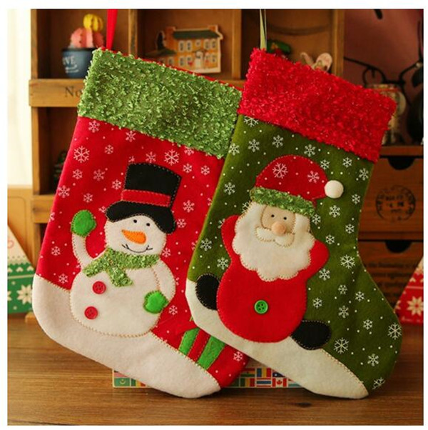 Fast Delivery Snowflake Christmas Stockings (80011-1)