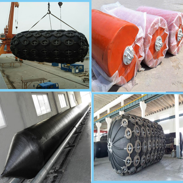 Lifting Airbag Marine Inflatable Rubber Airbags for Ship Launching
