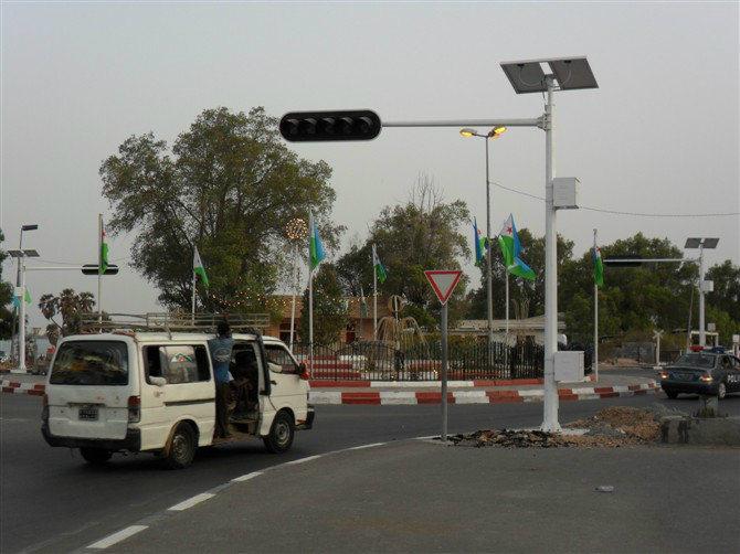 6m Traffic Camera Pole with Arm