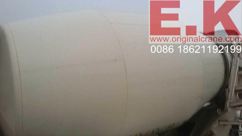 Hino Used Cement Mixer Concrete Mixing Truck 8cbm