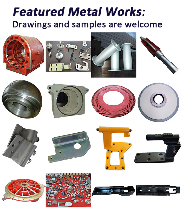 OEM Steel Welded and Stamping Railway Parts