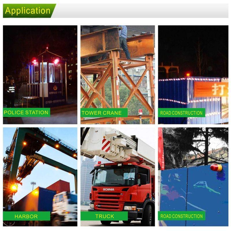 Solar Energy Warning Light, Tower Crane Parts