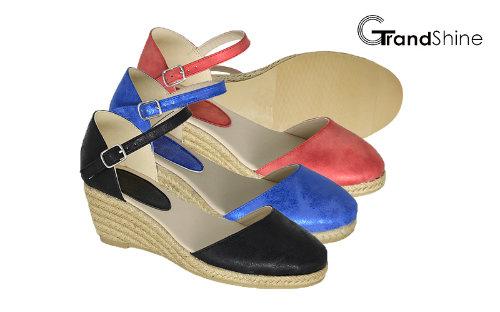 Women's Fashion Espadrille Wedge Sandals