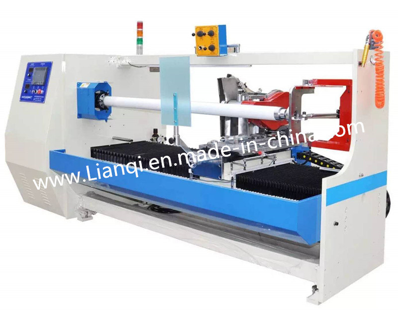 High Speed Automatic Adhesive Tape Roll Cutting Machine