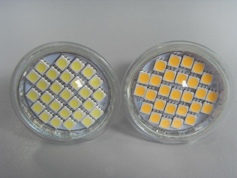 LED Spot Light with Glass Cover (24SMD/27SMD/36SMD/44SMD/48SMD/54SMD/60SMD)