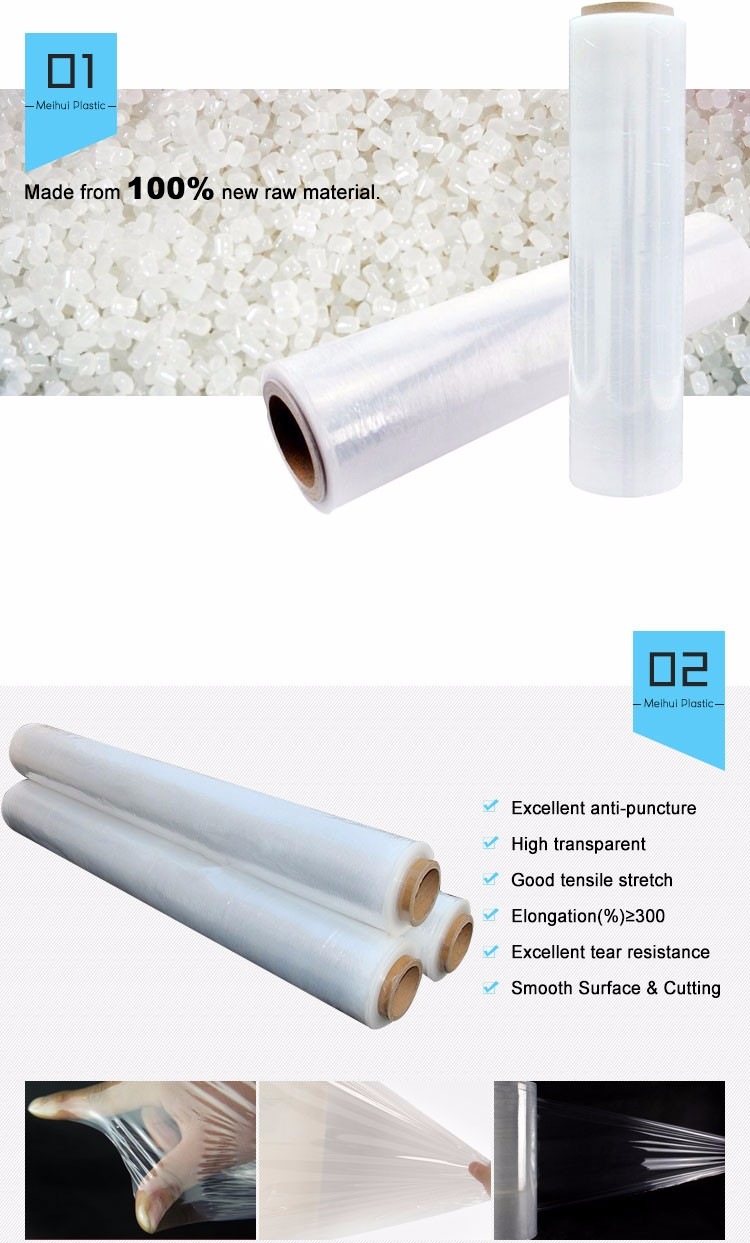 Machine Use Clear Wrapping Film