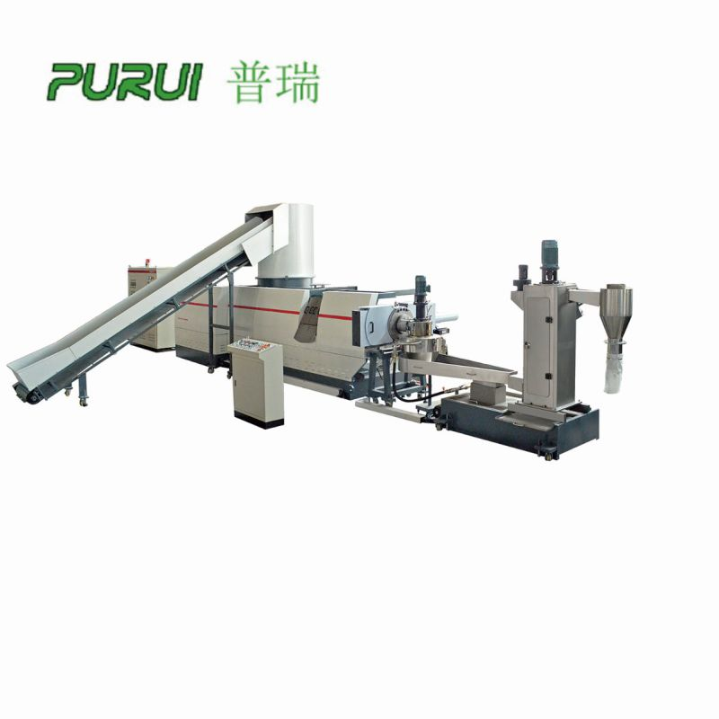 Plastic Recycling Extruder Machine and Plastic Film Recycling Machine