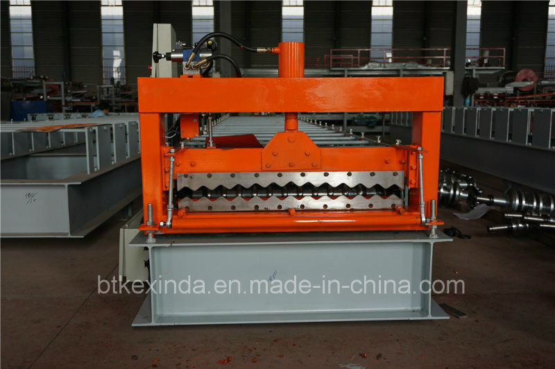 Kxd 800 Corrugated Metal Roofing Sheet Profile Roll Forming Machine