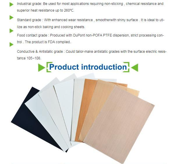 PTFE Cast Film Laminated Fabrics